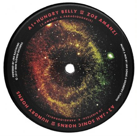 Zoe Amanzi - Hungry Belly / Hungry Horns - Jah Sonic Horns (New Flower) 12""